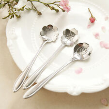 Stylist Stainless Lover CherryMeasuring blossoms Spoon Tea Fashion Coffee Spoon