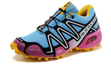 New Women's Salomon Speedcross 3 Outdoor Hiking Athletic Trainers Running Shoes