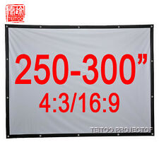 250-300 Inches Large Size Outside Movie Projector Projection Screen Curtain Film