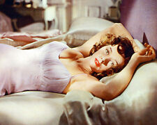 Gloria Grahame Color Poster or Photo Seductive Pose