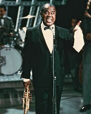 Louis Armstrong Color Poster or Photo