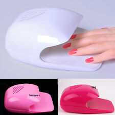 Nail Art Tips Portable Nail Dryer Polish Mini Fan Blower Finger Varnish Dryer