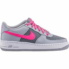 Nike Air Force 1[GS] Wolf Grey/Hyper Pink-Cool Grey-Whit 314219 013 Laces Junior