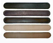 PREMIUM GRADE 2 PLY STITCHED LEATHER TRUNK HANDLE, 4 Colors,  Sold Separately