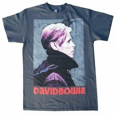 David Bowie Portrait Officially Licensed Glam Rock Men's T-Shirt