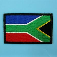South Africa African Flag Country Iron Sew on Patch Applique Badge Embroidered