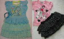 KNITWORKS GIRLS TOP & SCOOTER SET - GIRLS SIZE 4 OR SIZE 16.5- NWT!