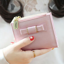 Two Fold Thin Women Purse Ladies Handbag Wallet New Clutch Change Coin Cards Bag
