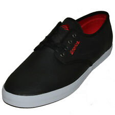 Emerica The Wino Mens Black Skate Canvas Shoes