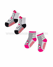 Deux par Deux Girls' Socks Little Monstress, Sizes 18M-4