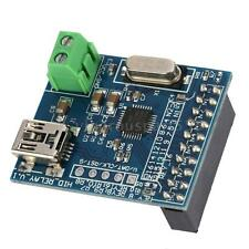 Portable 8/16-CH Controller USB HID Programmable Control Relay Module Board G0M1
