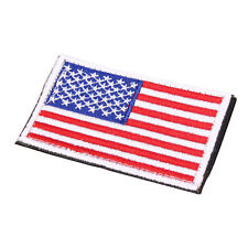 Embroidered American Flag Embroidered Patch Patriotic USA Military Patch Sewing