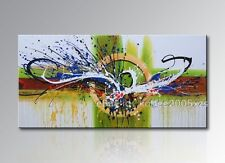 Huge Handmade Oil Painting Modern Decor Wall Art On Canvas Abstract  (no frame)