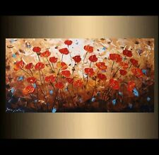 Hand-painted Palette Knife oil painting Modern Wall Art  on Canvas (no frame)