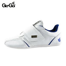 GIO GOI MENS WHITE VELCRO CHESTER TRAINERS PUMPS SHOES RRP £49.99 SAVE 75% OFF