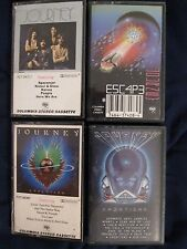 LOT OF 4 JOURNEY CASSETTES TAPES (NEXT, FRONTIERS, ESCAPE, EVOLUTION)STEVE PERRY