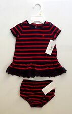 NEW WITH TAG RALPH LAUREN POLO BABY GIRL DRESS SZ 3 MONTHS