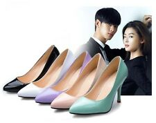 Fashion Sexy High Heels Womens Stilettos Pumps Pointed Court Work Shoes 5 Colors