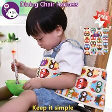 Baby Toddler Enhanced Dinning High Chair Harness Booster Travel Car Portable