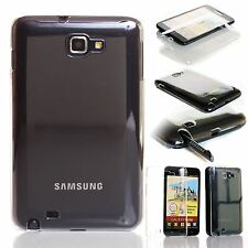 CRYSTAL CLEAR TRANSPARENT PLASTIC BACK CASE COVER FOR SAMSUNG GALAXY NOTE i9220