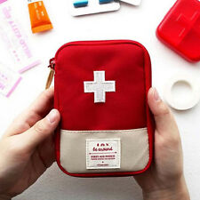 Portable Home Travel Camping Medical Bag Emergency Survival First Aid Kit Bag EC