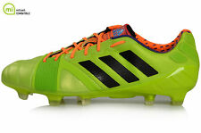 Adidas Nitrocharge 1.0 TRX FG Soccer Cleats Solar Slime F 32770---New in Box---
