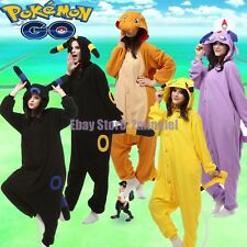 Pokemon Go Animal Onesies Adult Unisex Kigurumi Pyjamas Pajamas Cosplay Costume