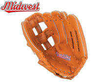 "*BRAND NEW* MIDWEST BASEBALL FIELDERS GLOVE MITT SENIOR 12"" or JUNIOR 10"""