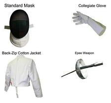 Blade Fencing 4pc Beginner Starter Practice Epee Set Kit (Build Your Own)