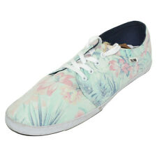 Globe Red Belly Faded Hawaiian Mens Canvas Shoes