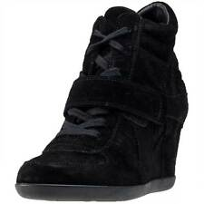 Ash Bowie Softy Womens Wedges Black Black New Shoes