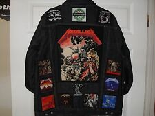 THRASH BIG 4 Tribute Jacket/VEST...Metallica, Pantera, Slayer, Anthrax,Megadeth