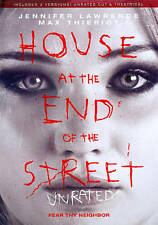 House at the End of the Street Unrated/Theatrical Versions (DVD, 2013) Free Ship