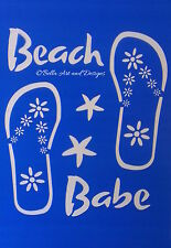 Assorted Flip Flop Stencils - **Free gift with every order**
