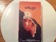 The Karate Kid Part III (VHS, 1993, Closed Captioned) Ralph Macchio & Pat Motita