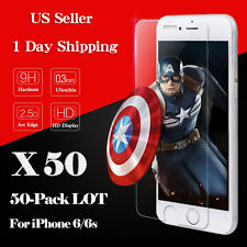 """LOT Wholesale Premium 9H Tempered Glass Screen Protector Film iPhone 6 6S 4.7"""""""