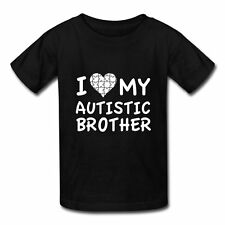Love My Autistic Brother Kids' T-Shirt