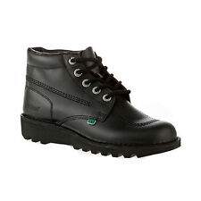 Kickers Kick Hi High Adult Men Back To School Black Boots