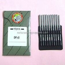 10 Organ 134LR 135X6 135X8 135X8LR Leather Point Sewing Machine Needles