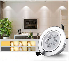 Dimmable 3W 5W LED Recessed Ceiling Light Downlight Warm/Cool White Spot Lamp