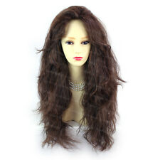 Romantic SEXY Wild Untamed Long Curly Brown & Auburn Ladies Wigs WIWIGS UK