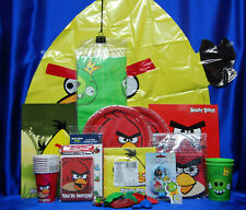 Angry Birds Party Set # 19 Angry Birds Party Supplies Tablecover Plates Napkins