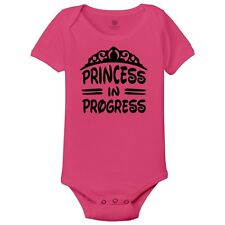 Princess In Progress Baby Onesies By Customon