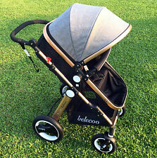 2016 Baby Stroller BELECOO All Terrain 3-in-one Travel System/Pushchairs/Pram