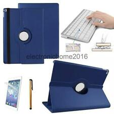 """Bluetooth Keyboard PU Leather Case 360 Rotating Cover for Apple ipad Pro 12.9"""""""