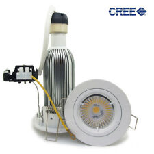 20X 10W 12W CREE COB LED GU10 Recessed Ceiling down lamp Downlight Kit dimmable