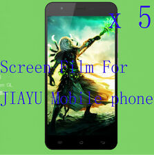 5 Clear Glossy Matte LCD Screen Protector Film Cover Skin For JIAYU Mobile phone
