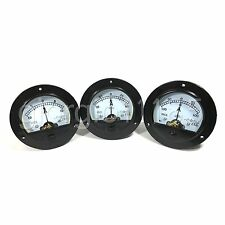 DC +/-10 ~ +/-100A + Shunt 4 Values Round Analog AMP Panel Meter Gauge