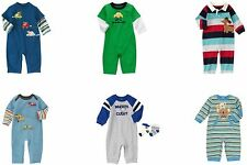 NWT Gymboree Baby Boy Rompers U-Pick Sz: 0-3, 3-6, 6-12, 12-18, 18-24
