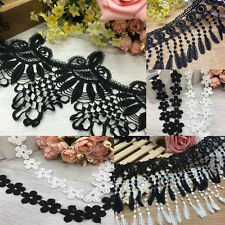 1/2Yard DIY Bridal Lace Trim Ribbon For Embroidered Dress Wedding Sewing Craft
